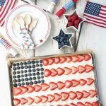 For a patriotic holiday only red, white and blue really captures the spirit of the day.  Having a flag dessert, especially one as easy as this American Flag Fruit Cookie Dessert Pizza recipe is totally the way to go.  I love a good shortcut making baking and prep time shorter especially when you would never...