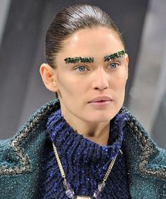 Rad Or Bad: Chanel's Bedazzled Brows