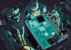 nemurism — I drew this pic for Starfox Calendar project. Star Fox, Shining Tears, Fox Mccloud, Fox Games, Fox Pictures, Doom Patrol, Space Pirate, Cute Cartoon Animals, Fox Art