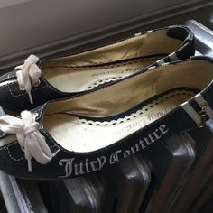 Juicy loafers Worn but with a good cleaning these are in great condition. Juicy Couture Shoes Flats & Loafers