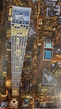 New York Architecture, Futuristic Architecture, Amazing Architecture, New York City Buildings, New York City Ny, Amazing Buildings, Unusual Buildings, New York From Above, 432 Park Avenue