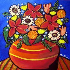 """Fall Floral ""   by Renie Britenbucher  Giclee print; fine art print."