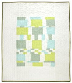 Modern Baby Quilt - This & That
