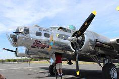 B-17 at CAF Museum, Falcon Field, Mesa AZ (photo: Paul Woodford)