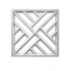 Fypon 27-3/4 in. x 27-3/4 in. x 1-1/2 in. Polyurethane Crosshatch Decorative Panel DP28X28CH at The Home Depot - Mobile