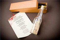 Love Letter In a bottle for your hubby!