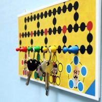 la reines blog: Mit Brettspiel basteln: DIY Schlüsselbrett