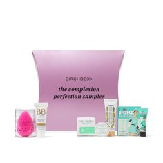 "I highly recommend this!   The Complexion Perfection Sampler, <span class=""price"">$20.00</span> #birchbox"