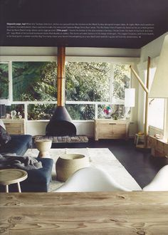 Love this room, check out that fire place