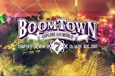 BoomTown is a music festival like no other on earth. It's literally a living, breathing, music-making machine. When you enter BoomTown, you enter a psychedelic non-stop party – the city of dreams - http://www.bluewhiteandgrey.com/boomtown-fair-2015-the-7th-chapter/