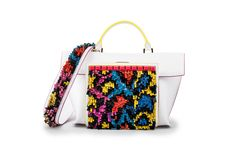 Azzurra Gronchi spring/summer bags collection, big Italy white front