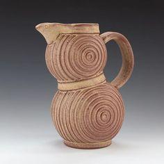 Finished pitcher. #pitcher #ceramics #pottery #clay #contemporaryceramics #wheelthrown #handmade #stoneware #madeinaskutt