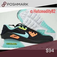 buy popular 264eb 67dc4 Women s Nike Air Max 90 Ultra SE Pink Black Teal 100% Authentic Sneakers New  Never