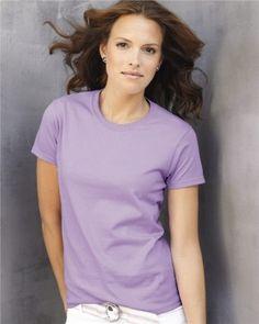 Gildan - Ladies Ultra Cotton T-Shirt - $2.36 ➜ clothingshoponline.com   #wholesale #prices #blank #apparel #cheap #tshirts #discount #designer #brands #deals #clothing #shop #online #CSOnline