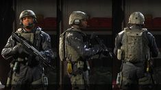 Military Special Forces, 3d Model Character, Single Player, Modern Warfare, Call Of Duty, Army, Tactical Gear, Airsoft, Futuristic