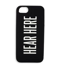 Hear Here iPhone 5 from JackSpade $40