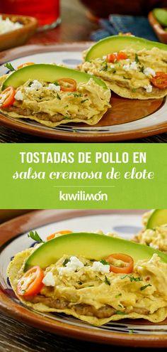 Queso Fresco, Mexican Food Recipes, Ethnic Recipes, Enchiladas, Tapas, Sandwiches, Deserts, Good Food, Menu