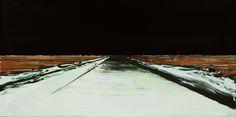 De immense intensiteit van stilte | Koen Vermeule,  Nachtlandschap - 1999