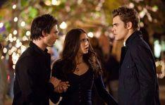 Damon, Elena and Stefan #Forever