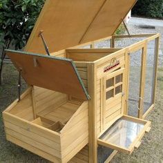 Pets Imperial® Wentworth Large Chicken Coop Hen Ark House Poultry Run Nest Box Rabbit Hutch Suitable For Up To 4 Birds - Integrated Run & Cleaning Tray & Innovative Locking Mechanism Backyard Chicken Coop Plans, Portable Chicken Coop, Building A Chicken Coop, Chickens Backyard, Chicken Barn, Chicken Cages, Chicken Coop Designs, Keeping Chickens, Raising Chickens