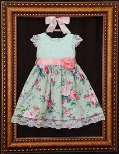 Muito Lindo esse Vestido Jardim Encantado da Mareli Kids Vestuário e Acessórios ME