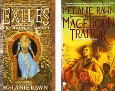 """Melanie Rawn """"Exiles"""" series. luckily I've only been waiting fifteen years for the third book, """"Captals Tower"""""""