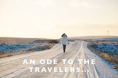 An Ode to the Travel