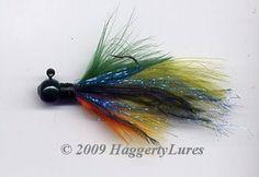 Marabou Jig - 3/8oz - 1/2oz - Bluegill - Fishing Lure - Haggerty Lures
