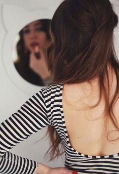 black and white stripes #fashion #photography