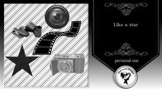 Like a star - brushes PU/CU/S4H by Black Lady Designs