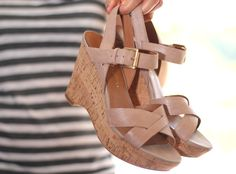 The Franco Sarto Farley Wedge Towers Above the Rest, Takes Spring and Summer Looks to New Heights | @makeupandbeautyblog