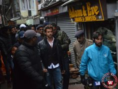 Shimla crowd goes hysterical to watch Hrithik shooting 'Bang Bang'  SHIMLA- Bollywood mania is the word that'll suit as a depiction of the scene that recent shoot of 'Bang Bang', which is an official remake of the Tom Cruise-Cameron Diaz starer, 'Knight and Day', has been creating in Shimla for the past couple of weeks. May be, Hrithik Roshan was the better reason for the crowding of Shimla Mall.