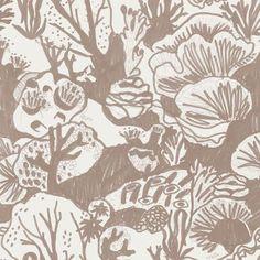 Reef Wallpaper. Tan