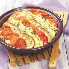 Provençaalse tian met mozzarella | Gezonde Recepten | Weight Watchers