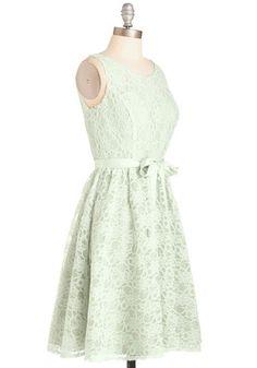 Simply Divine Dress in Sage | Mod Retro Vintage Dresses | ModCloth.com