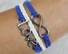 infinite love braceletspersonalized bracelets with by lifesunshine, $6.99