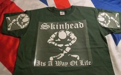 SKINHEAD . SITTING ITS A WAY OF LIFE . FOREST GREENSLEEVE