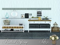 Practical Storage hallway by Lulu265 - Sims 3 Downloads CC Caboodle