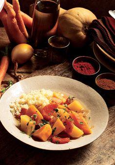 Golden Vegetable Tagine Recipe