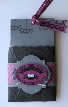 Stampin' Up! Halloween Fancy Favor Box  by Heather Summers by josie