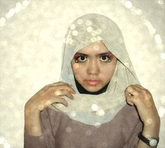 #hijab #girl #moeslem #eyes #watch #fashion