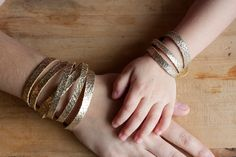 Leather Bracelet Set | Mommy & Me | Sliced | Crackle Mommy And Me, Bracelet Set, Bangles, Diamond, Trending Outfits, Unique Jewelry, Handmade Gifts, Leather, Etsy