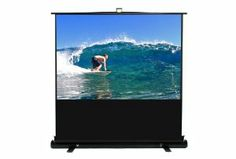 Discount $166.12 from $506.99 - Elite Screens F100XWH1 EzCinema Projection  Like, Repin, Share it  #todaydeals #deals #ChristmasDeals  #discounts #sale #Television