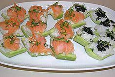Gurken - Sushi (Rezept mit Bild) von Jamie_Oxxx