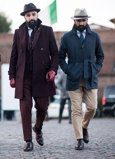 Sharp tailoring seen at Pitti Uomo