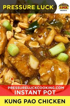 Sep 2019 - Visit the post for more. Instant Pot Pressure Cooker, Pressure Cooker Recipes, Pressure Cooking, Kung Pao Chicken Recipe Easy, Chicken Recipes, Ip Chicken, Pots, Instant Pot Dinner Recipes, Hoisin Sauce