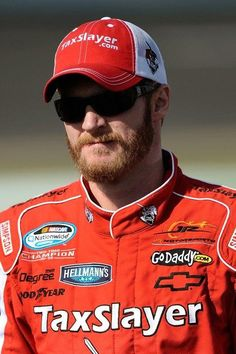I would say red is his color :) #DaleJr