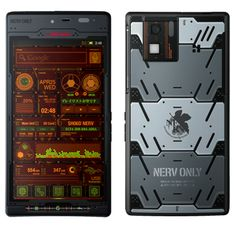 . #Evangelion 3.0 and NTTDocomo tie-up for Nerv phone - And it's running on android platform!!!! =D
