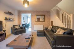 3 bedroom semi-detached house for sale in Gwendolyn Drive, Copsewood, Coventry - Rightmove. Semi Detached, Detached House, Morris Homes, Property For Sale, Lounge, Couch, Bedroom, Furniture, Home Decor