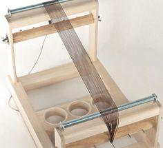 A warped bead loom ~ Seed Bead Tutorials
